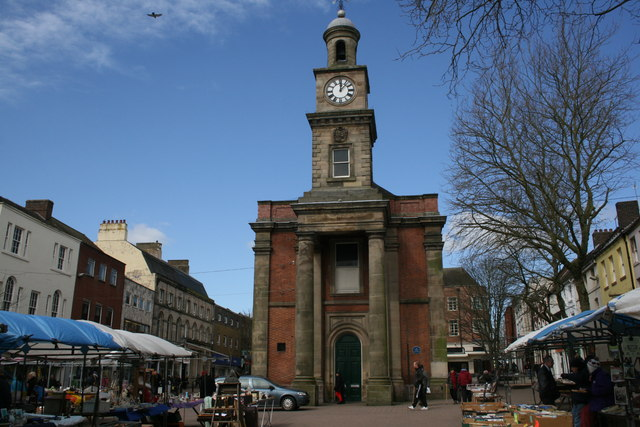 Guildhall in Newcastle-under-Lyme Town Centre
