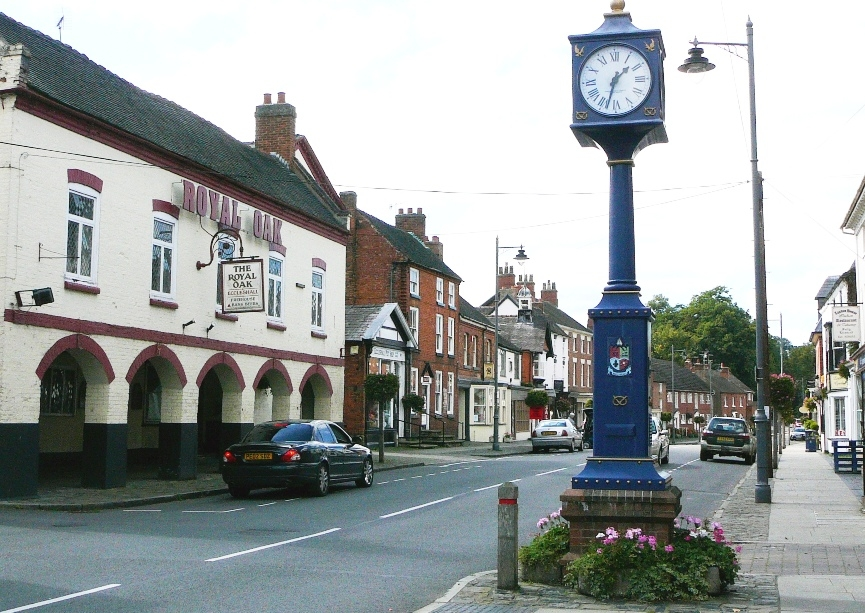 main road in Eccleshall